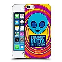 オフィシャル emoji® エイリアン フラット iPhone 5 iPhone 5s iPhone SE 専用ハードバックケース