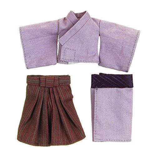 オビツドール 11cmボディ用 袴・着物上下セット 紫...