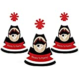 Beware of Pirates – Mini円錐Pirate Birthday Party Hats – Small Little Party Hats – 10のセット