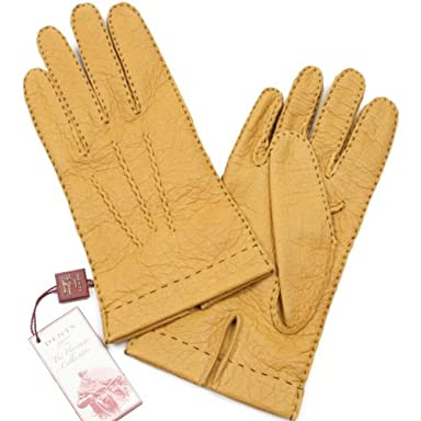 Melton Peccary Gloves Unlined 15-1041: Cork