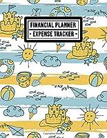 Financial Planner: Beach Expense Tracker / Financial Planner | 8.5x11 | 52 Weeks Undated