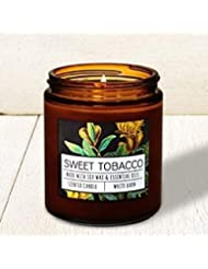 Bath and Body Works Sweet Tobacco Single Wick Candle。7オンス