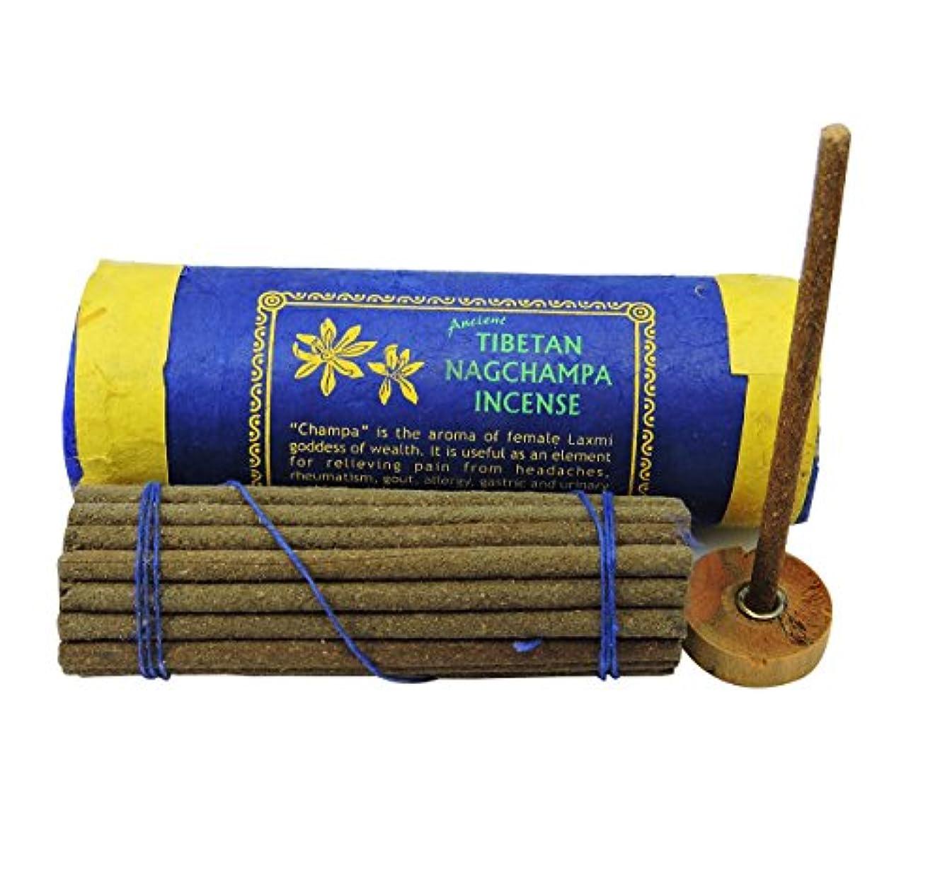 自然公園十二じゃないTibetan Nagchampa Incense with Burner