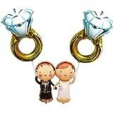 風船 結婚式 誕生日 開店祝い 結婚祝い ギフト 新郎新婦 ダイヤの指輪 フラワー バルーン アレンジ メントパステルカラー 人気 二次会 電報 パーティー バルーン 風船 ウェルカムスペース 飾り付け おしゃれ