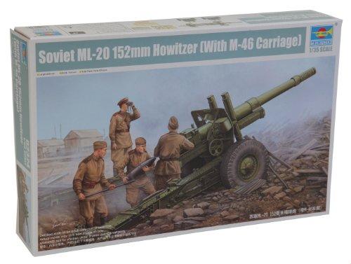 """1/35 ソビエト軍 152mm加農榴弾砲 """"M46キャリッジ"""""""