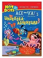 Educational Insights Hot Dots Jr. Story Books Ace & Kat Undersea, Set Of 6 [並行輸入品]