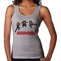 RHEYJQA Road House Pixel High Kick Women's Vest