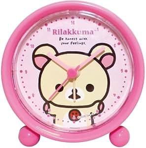リラックマ 目覚まし時計 ラウンドアラームクロック アナログ表示 コリラックマ 734429