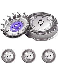 シェーバー 替刃 シェーバー ヘッド シェービングユニット 交換ヘッド 3頭のヘッド 替え刃 シェーバー用替刃 シルバー ( フィリップスの型番に適応 ) シェーバー替え刃 交換用ヘッド替刃 交換用ヘッド替刃