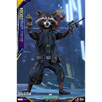 Hot Toys Marvel Guardians Of The Galaxy Vol。2Rocket (デラックスバージョン) 1/ 6Scale Figure