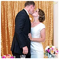 ShinyBeauty rosegold-sequin backdrop-20ftx10ft、スパンコール結婚式背景、すぐ発送