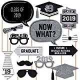 All Star Grad - Graduation Photo Booth Props Kit - 20 Count