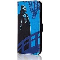 レイ・アウト iPhone6 / iPhone6s ケース スター・ウォーズ ブックレザーケース (ICカード収納×1 / スタンド機能 / マグネット蓋) 和/ダース・ベイダー RT-SWP9C/DV