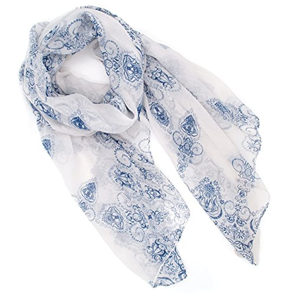 ロマンチック膨張する上レディース ストール スカーフ 大判 薄手 冷房対策 日焼け 紫外線対策