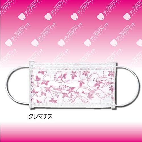 パターンマスク(クレマチス柄)【94×175mm】1箱(50枚入)【F2】