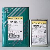 セラMシリコン3 濃彩色(KP-185) 16Kg/セット
