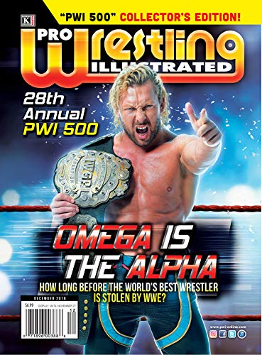 Pro Wrestling Illustrated Magazine-December 2018: 28th Annual PWI 500-Collector's Edition; Kenny Omega, AJ Styles, Kaz Okada, Seth Rollins, Roman ... many ... +PWI Official Ratings (English Edition)