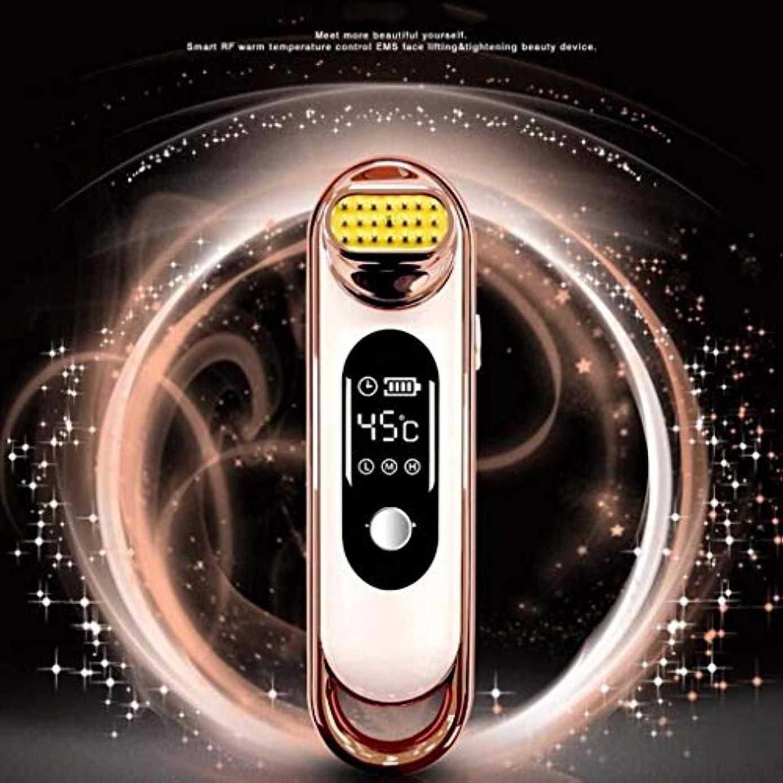 複製する想定する温度計顔の美のマッサージャー、美の器械、顔のスキンケア装置、アクネ/反老化/しわ (Color : A)