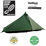 Six Moon Designs Lunar Solo Green 1 Person Tent 2020 Version