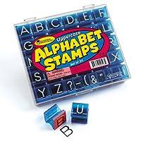 アルファベットスタンプ 大文字 Alphabet Stamps Uppercase LER0597