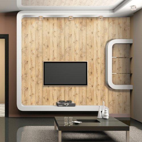 アンティークウッド ウォールシート ナチュラル  50cm×3m