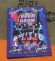 ANS digital single 『BOOM BOOM』直筆サイン入り非売CD 韓国