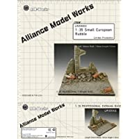AllianceモデルWorks 1 : 35 Small European Rubble Resin Diorama Base # lw35002