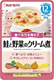 キユーピーベビーフード ハッピーレシピ 鮭と野菜のクリーム煮 80g[12ヵ月頃から]×6袋