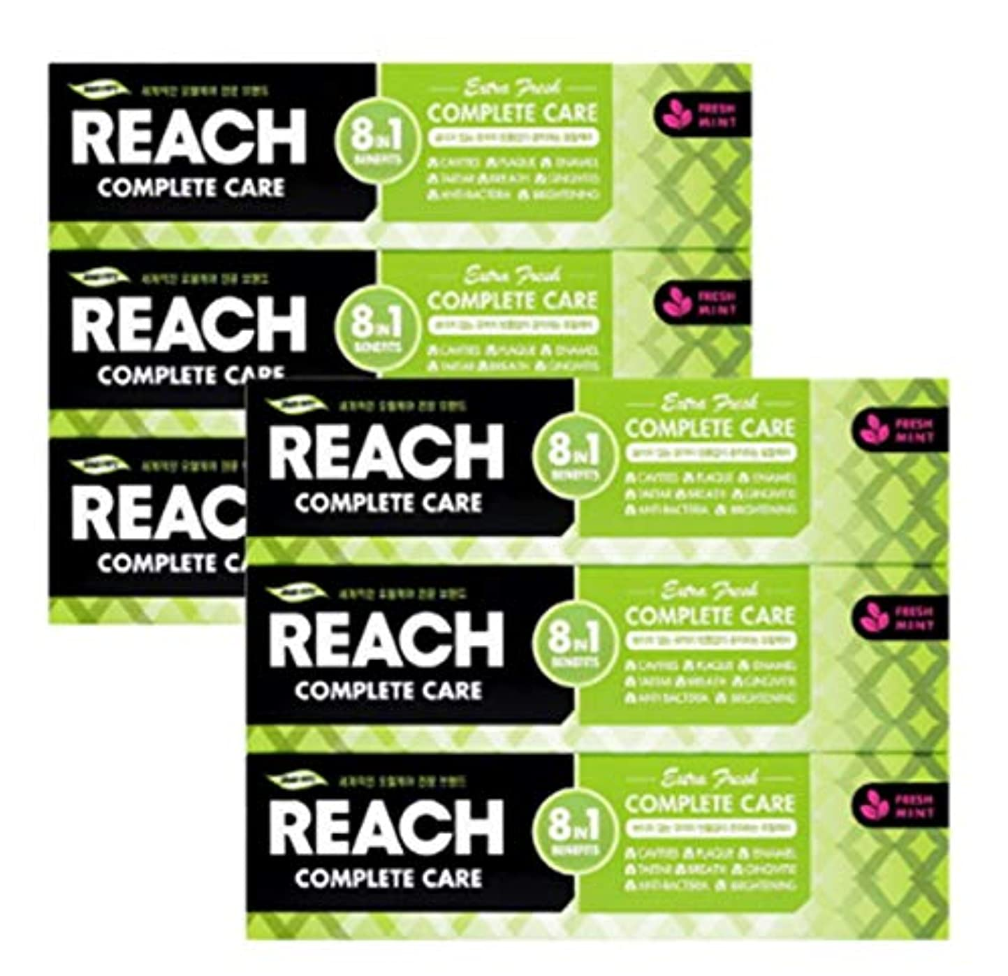 予算決済挑発する[LG生活と健康] LG Rich Complete Care Toothpaste Extra Freshリッチコンプリートケア歯磨き粉エクストラフレッシュ120gx6つの(海外直送品)
