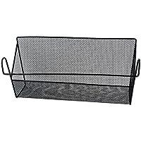 uxcell ワイヤー ストレージ バスケット 寝室用品 化粧品 収納ラック
