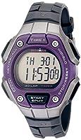 (grey) - Timex Women's Ironman TW5K89500 Grey Rubber Quartz Watch