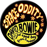 "Space Oddity - David Bowie Artwork Magnet Decal, 3"" Novelty Fridge Magnets"
