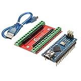 Prament ナノ IO シールド拡張ボード + ナノ V3 Arduino のケーブルを改良したバージョン -