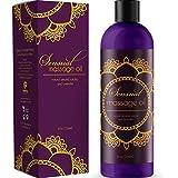 Sensual Massage Oil w/Pure Lavender Oil - Relaxing Almond & Jojoba Oil - Women & Men - 100% Natural Hypoallergenic Skin Therapy 8 oz. - USA Made