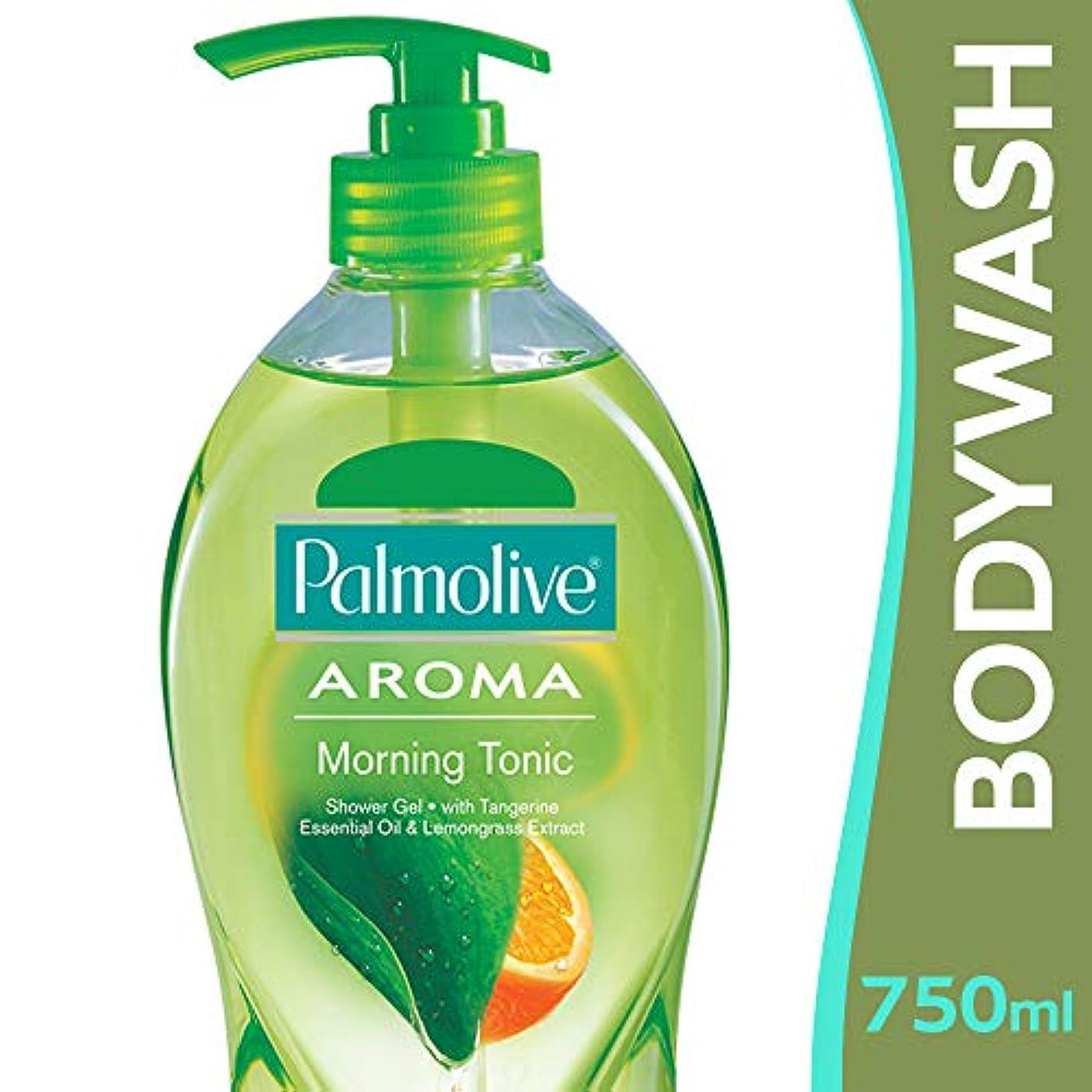 落胆させる製作多様体【Palmolive】パルモリーブ アロマセラピーシャワージェル(モーニングトニック)750ml