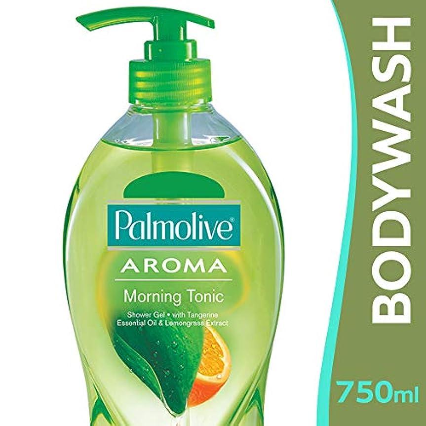 凍結ビジター渇き【Palmolive】パルモリーブ アロマセラピーシャワージェル(モーニングトニック)750ml