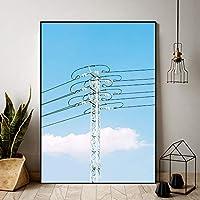 ホームデコレーションプリント絵画風景写真ウォールアートキャンバスポスター-40x60cmx1ピースフレームなし