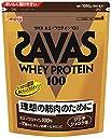 ザバス(SAVAS) ホエイプロテイン100 ビタミン リッチショコラ味 【50回分】 1,050g
