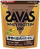 『ザバス(SAVAS) ホエイプロテイン100+ビタミン リッチショコラ味 【50食分】 1,050g』画像