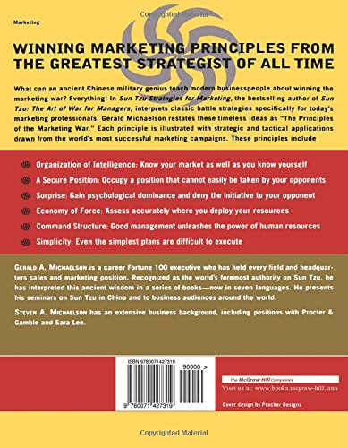 sun tzus leadership and strategic principles More than two millennia ago the famous chinese general sun tzu wrote the classic work on military strategy, the art of war now, in sun tzu and the art of business, mark r mcneilly shows how sun tzu's strategic principles can be successfully applied to modern business situations here are really.
