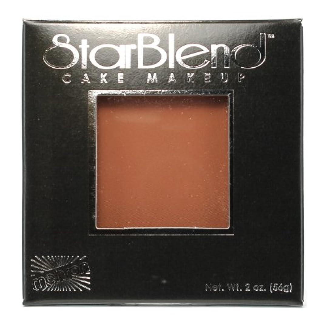 合図ロシア拘束(6 Pack) mehron StarBlend Cake Makeup - Contour II (並行輸入品)