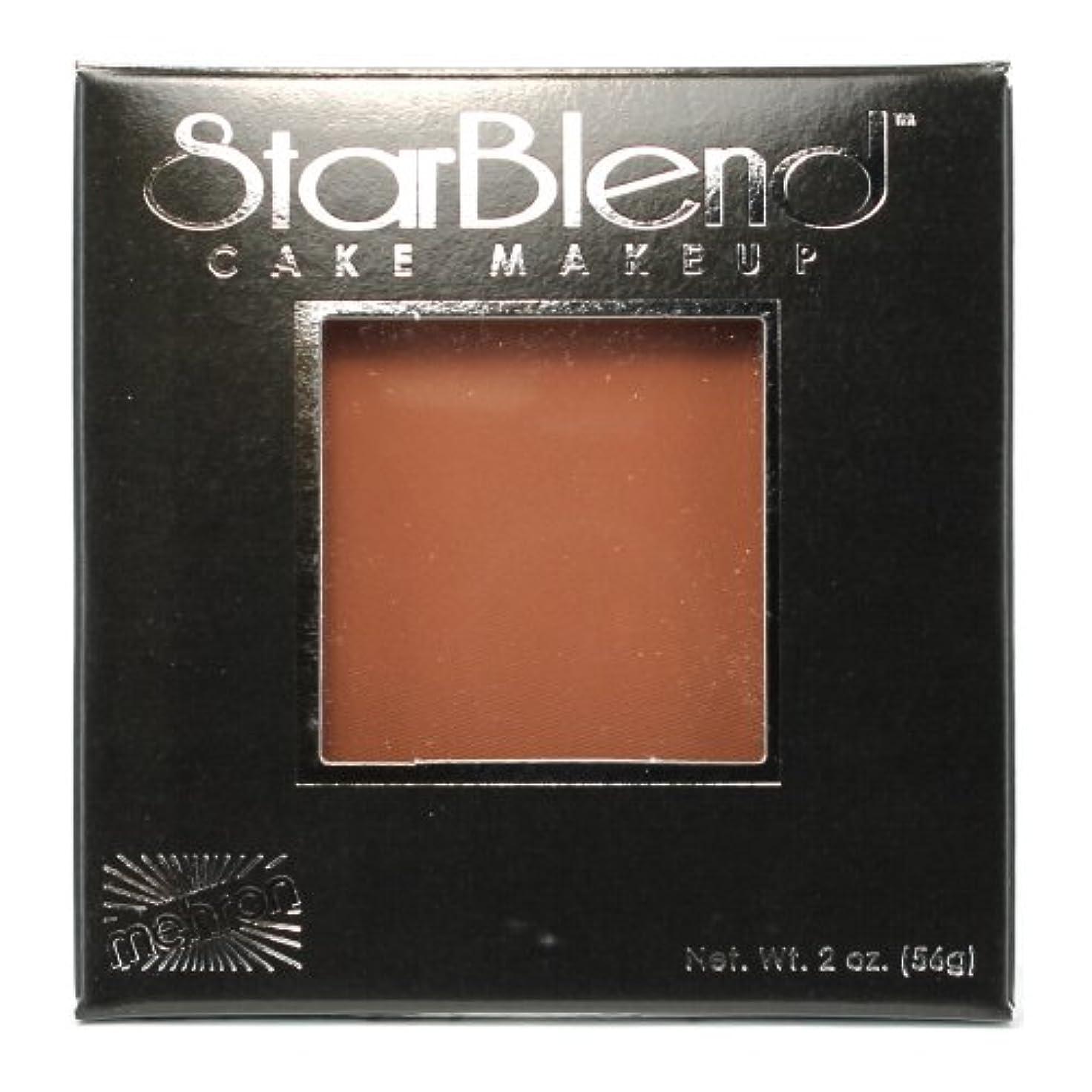 出版修正大胆不敵(6 Pack) mehron StarBlend Cake Makeup - Contour II (並行輸入品)