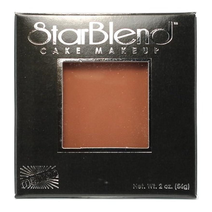 間欠夕食を食べる明るい(6 Pack) mehron StarBlend Cake Makeup - Contour II (並行輸入品)