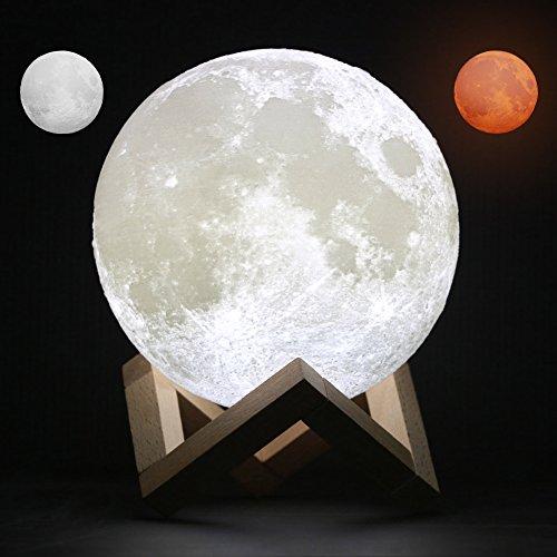 AmyHomieナイトライト 3D立体効果 月のライト 夜間ライト ベビーイ...