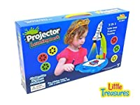 Little Treasures Trace and Draw Mess Free Spaceship Projector Learning Desk [並行輸入品]