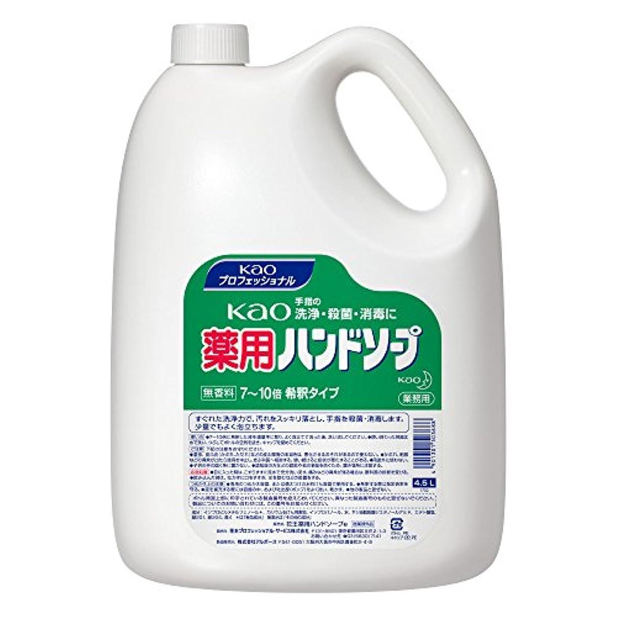 【業務用 ハンドソープ】Kao 薬用 ハンドソープ 4.5L(花王プロフェッショナルシリーズ)