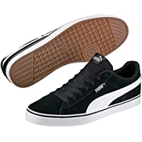 PUMA Men's Puma 1948 Vulc, Black-White, Sneakers