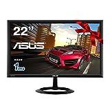 ASUS ゲーミングモニター 21.5型フルHDディスプレイ( 応答速度1ms / HDMI×2,D-sub×1 / スピーカー内臓 / 3年保証 ) VX228H
