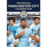 Manchester City(マンチェスターシティ) オフィシャル 2018 壁掛け カレンダー