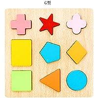 型はめ 木製立体パズル 知育玩具 キッズ 幼児 おもちゃ 積み木 形合わせ 赤ちゃん ベビー 色認知 図形認知 カラフル 早期開発 可愛い 贈り物 お誕生日プレゼント 出産祝い 子供 3種類選択可能 1歳/2歳/3歳